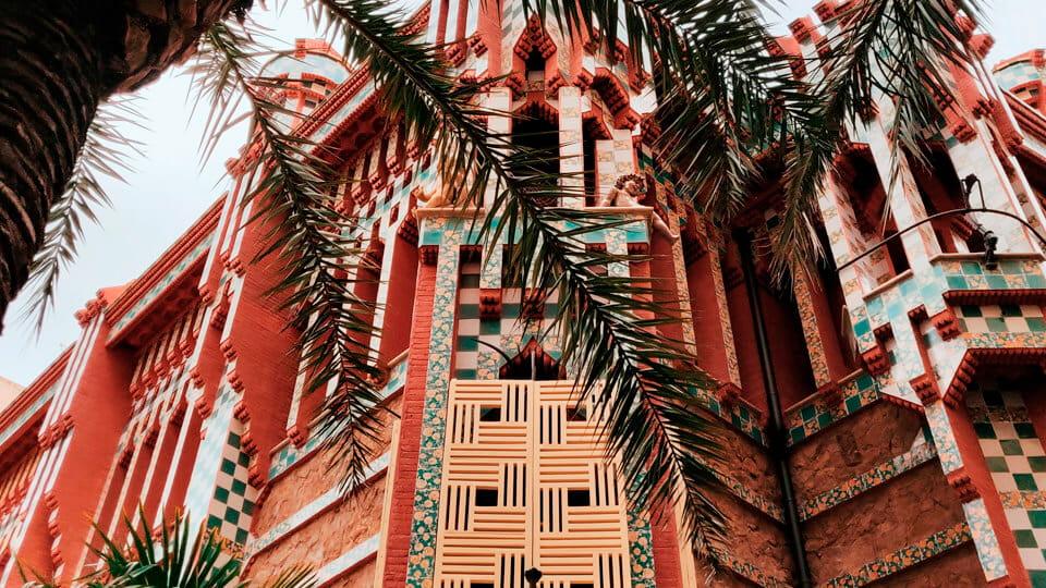 Casa Vicens, Barcelona. Spain