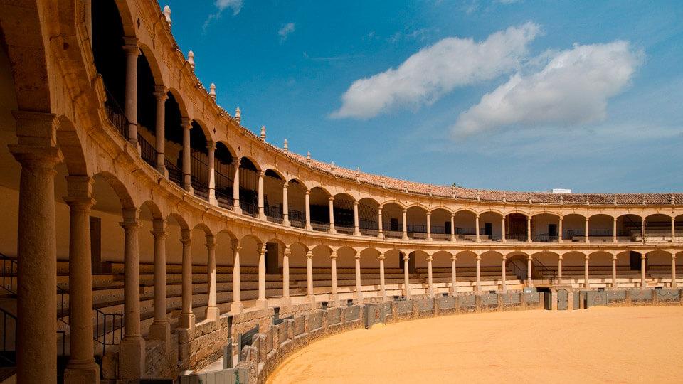 Bullring of Ronda, Malaga. Spain