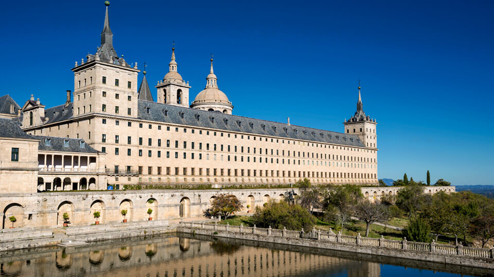 Monastery of San Lorenzo del Escorial. Spain