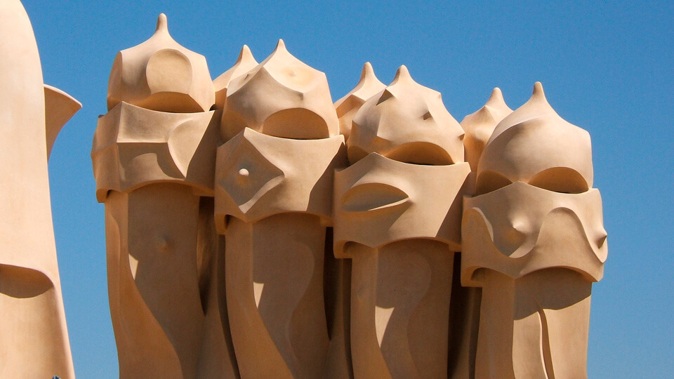 Mila House, La Pedrera, Barcelona. Spain